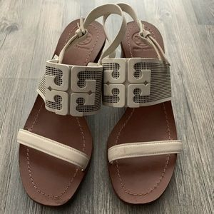 Tory Burch low heel summer sandals